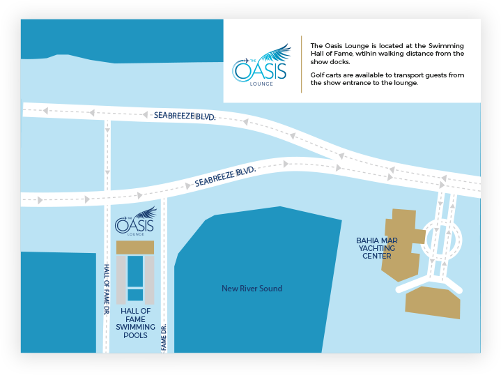Oasis Lounge Location